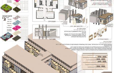 """פרויקטי הגמר של בוגרי ביה""""ס לארכיטקטורה באוני' אריאל: תכנון מגורים תוך התייחסות להיסטוריה ולסביבה"""