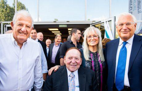 """""""שהחיינו""""- שגריר ארה""""ב בישראל בטקס פתיחת ביה""""ס לרפואה באוניברסיטת אריאל"""